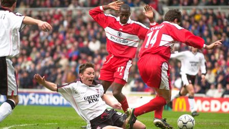 Former Aston Villa, Middlesbrough and England defender Ugo Ehiogu died on Friday. Picture: PA