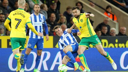 Russell Martin had a 300th Norwich City appearance to savour. Picture: Paul Chesterton/Focus Images