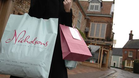 A shopping survey found that while some town centres in north Norfolk were doing well, others needed