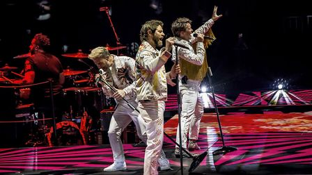 The opening night of Take That's Wonderland tour at the Genting Arena in Birmingham. Photo: Martin D