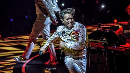 The opening night of Take That's Wonderland tour at the Genting Arena in Birmingham. Photo: Martin
