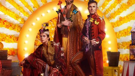 Take That's Wonderland Tour. Picture: Supplied by DawBell.