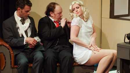 The Producers is being presented at Norwich Puppet Theatre. Photo: Richard Jarmy Photography.