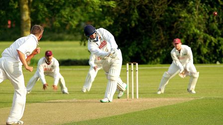 Great Witchingham's Sam Arthurton has started the new season in impressive fashion. Picture: Tim Fer