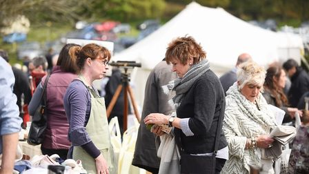 The Stately Car Boot sale at Sennowe Park, Guist. Picture: Ian Burt