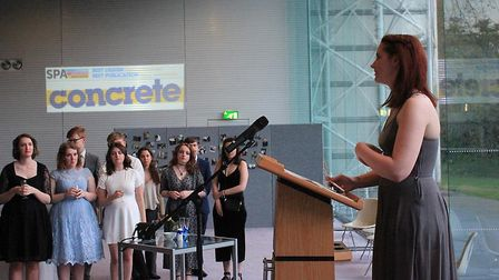 The University of East Anglia's student newspaper Concrete has marked its 25th anniversary. A celebr