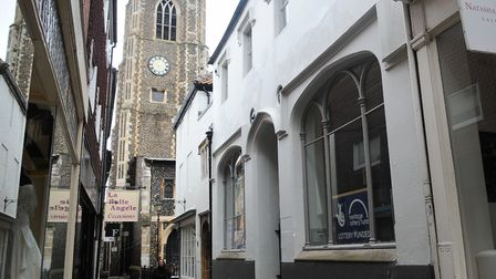 The Bridewell Museum, Bridewell Alley. Picture: Denise Bradley