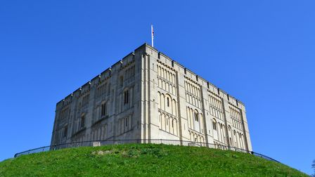 Norwich Castle on a clear day. Picture: ANNETTE HUDSON