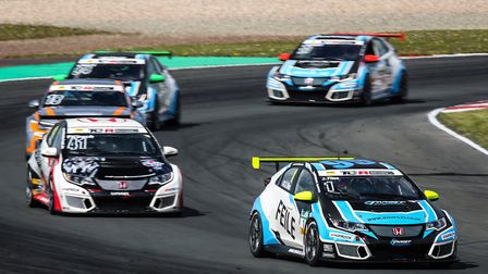 Josh Files made the perfect start to his TCR German Championship. Picture: Gruppe C GMbH