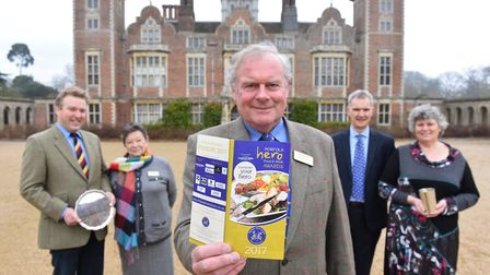 The launch of the Norfolk Hero Food and Drink Awards 2017 run by the Aylsham Agricultural Show Assoc