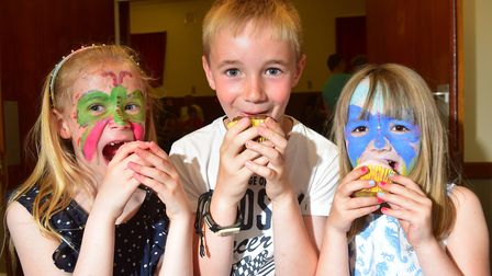 A scene from last year's inaugural charity cake day, which was held in memory of youngster Ollie Gra