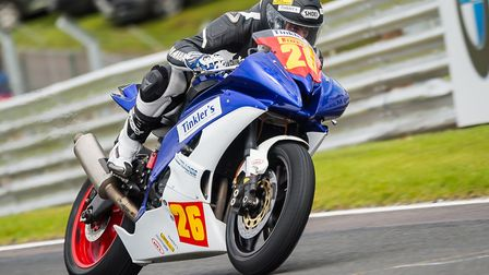 Grant Newstead in action at Oulton Park. Picture: Barry Clay