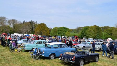 Bungay Area Lions Club Classic Vehicle Rally & Country Fayre 2017. Photo: Alice Fairhead