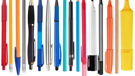 Pens - guard them with your life. Picture: GETTY IMAGES/iSTOCKPHOTO
