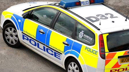Norfolk Police are on scene after Nationwide bank was broken into in Hunstanton. Photo:: James Bass.