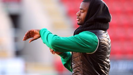 The time is up on Sebastien Bassong's Norwich City career. Picture: Paul Chesterton/Focus Images