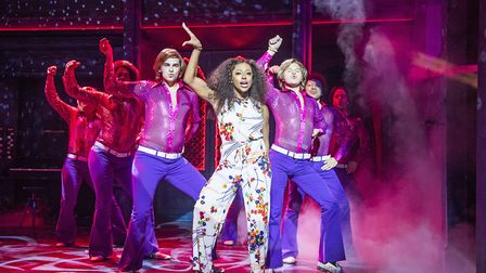 After two years in the role of Rachel Marron in The Bodyguard, Alexandra Burke is now playing Delori