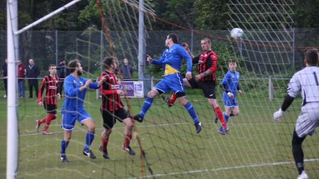 Cromer were unable to get on the scoresheet despite dominating the second half. Picture: Ally McGilv