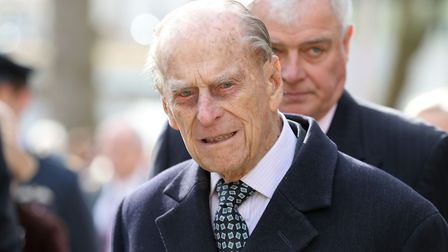 The Duke of Edinburgh arrives with Queen Elizabeth II at the Charterhouse in London to open their ne