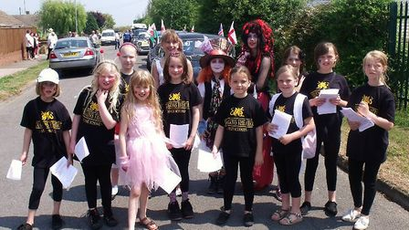 Youngsters from Dragons Stager and Theatre School will be taking part in the fete. Picture; Dragons