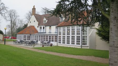 Browston Hall, at Browston near Belton, Great Yarmouth, is up for sale. Photo: Savills