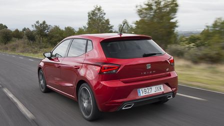SEAT Ibiza is a stylish, not so little, supermini. Picture: SEAT