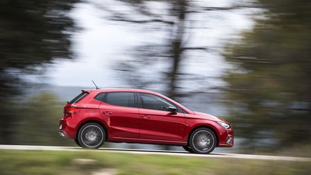 Fifth-generation SEAT Ibiza is slightly short but roomier. Picture: SEAT