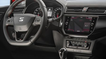 SEAT Ibiza cabin is functional rather than exciting. Picture: SEAT