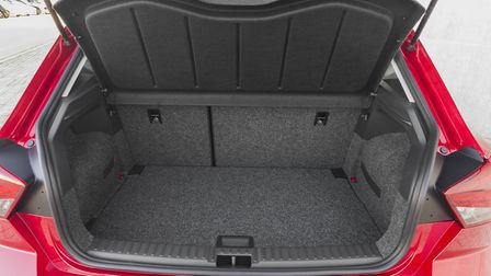 SEAT Ibiza boot space has grown to a class-leading 355 litres. Picture: SEAT