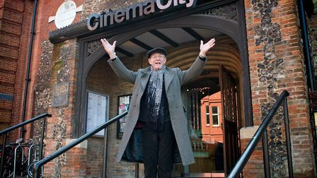 Sir John Hurt was a passionate patron and champion of Cinema City in Norwich. Picture: Simon Buck