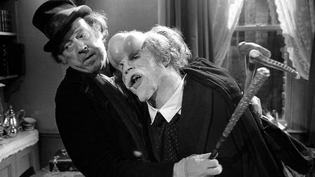 John Hurt spent seven hours in make-up for his role in David Lynch's The Elephant Man
