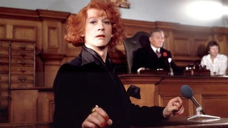 John Hurt in the biographical film The Naked Civil Servant, based on Quentin Crisp's 1968 book of th