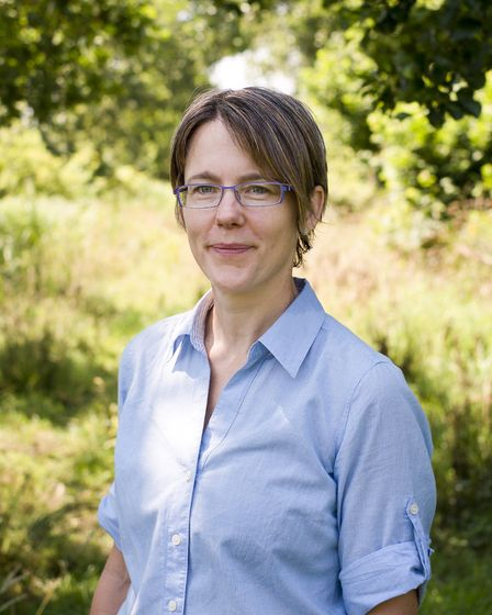 Andrea Kelly, senior ecologist at the Broads Authority. Picture: Supplied