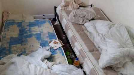Photos previously taken at properties rented by Sixteen Plus and paid for by Norfolk County Council.