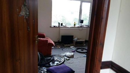 Photos taken at properties rented by Sixteen Plus and paid for by Norfolk County Council. Photo: Sup