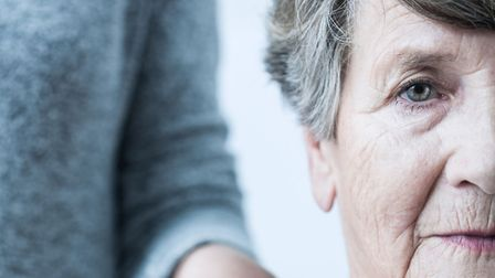 A generic photo of an older woman receiving support. Photo: PA Photo/thinkstockphotos.