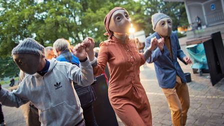 NNF17. TheatreFragile's We Meet In Paradise. Photo: supplied by Norfolk and Norwich Festival.