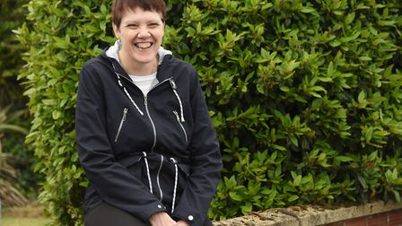 Linda Hogben of Bradwell, who is a volunteer one-to-one support worker for Arthritis Care, and has r