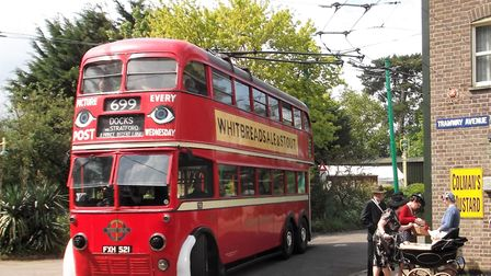 The East Anglia Transport Museum 1940s weekend. Picture: courtesy of East Anglia Transport Museum
