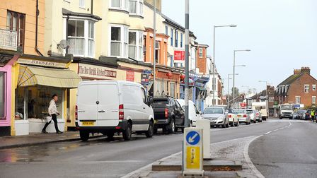 Northgate Street, Great Yarmouth. October 2013. Picture: James Bass