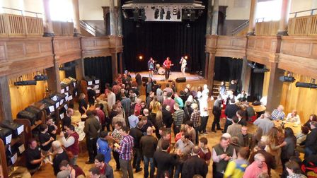 Yarmouth Beer festival 2013