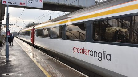 Stock photo of Greater Anglia train. Picture: Sonya Duncan