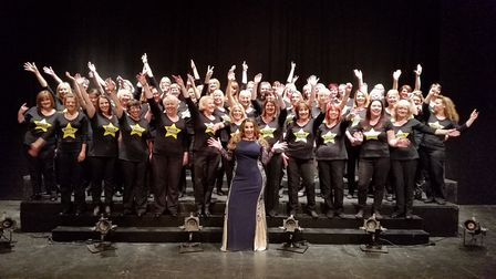 X Factor star Sam Bailey will be performing with Rock Choir at the Marina Theatre in Lowestoft this