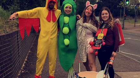 Thousands of UEA students are taking part in Pimp My Barrow to raise money for Big C. Pic: Louisa Ba