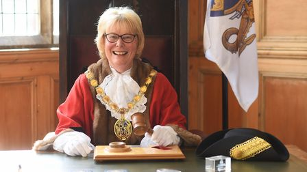 Carol Bower is the new mayor of King's Lynn and West Norfolk. Picture: Ian Burt