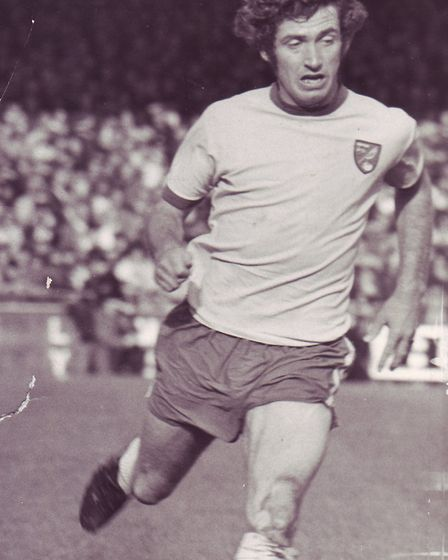 Clive Payne in his playing days. Photo: Archant Library