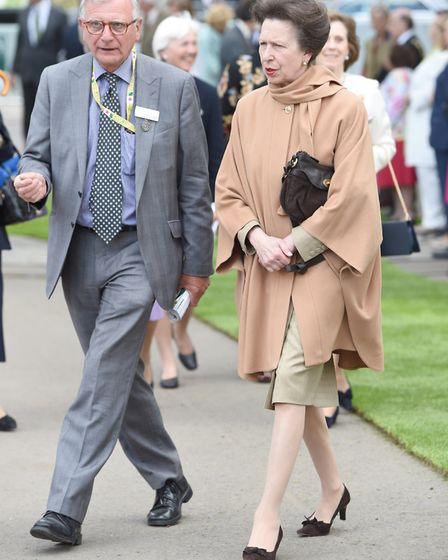 The Princess Royal (right) during a visit to the RHS Chelsea Flower Show, at the Royal Hospital Chel