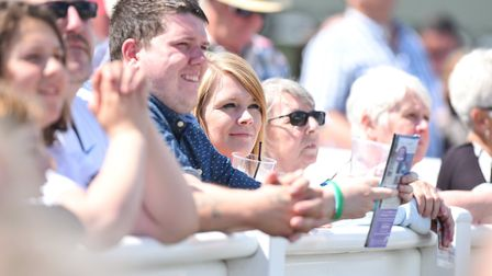 Racing at Great Yarmouth. Residents Day. 24th June 2016. Picture: James Bass
