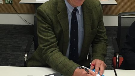 The first Oulton Broad Parish Council chairman, Ben Falat. Picture: Amy Smith