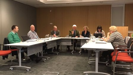 The first meeting of Oulton Broad Parish Council. Picture: Amy Smith